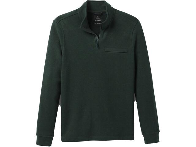 Prana Cardiff T-shirt Manches longues Zip 1/4 Homme, batik heather